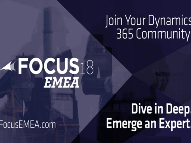 Gain valuable insights at the Focus EMEA conferences 2018