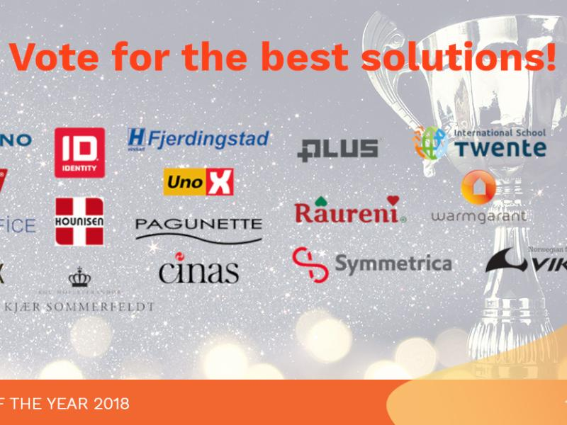 Dynamicweb Solutions of the Year 2018